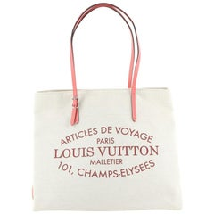Louis Vuitton  Cabas Adventure Canvas MM