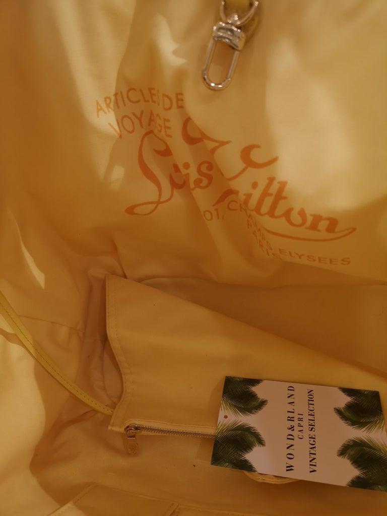 Women's or Men's Louis Vuitton Cabas Ipanema Yellow shoulder bag For Sale