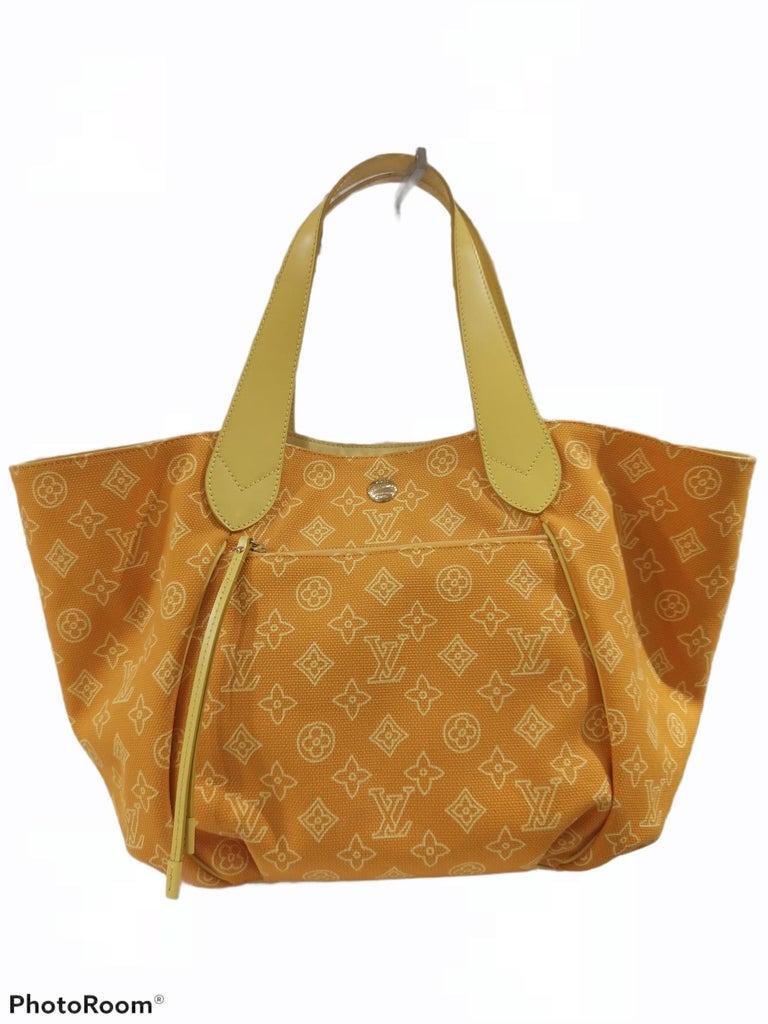 Louis Vuitton Cabas Ipanema Yellow shoulder bag For Sale 1