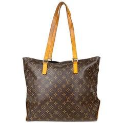 Louis Vuitton Cabas Monogram Mezzo Tote Bag