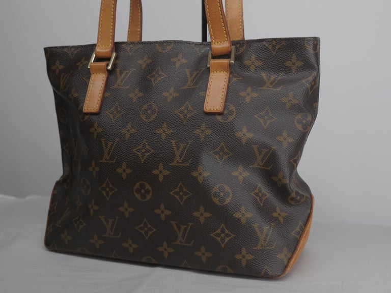 Louis Vuitton Cabas Piano Classic Monogram Tote In Fair Condition For Sale In Southampton, NY