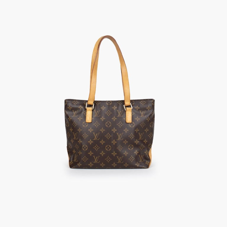 Black Louis Vuitton Cabas Piano Tote For Sale