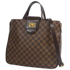 LOUIS VUITTON Cabas Roseberry Womens handbag N41177 Damier ebene