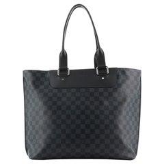 Louis Vuitton Cabas Voyage Damier Cobalt