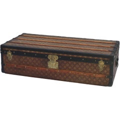 Louis Vuitton Cabin Trunk with Black Edging, circa 1920