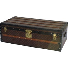 Louis Vuitton Cabin Trunk with D.P.P Initials, circa 1920