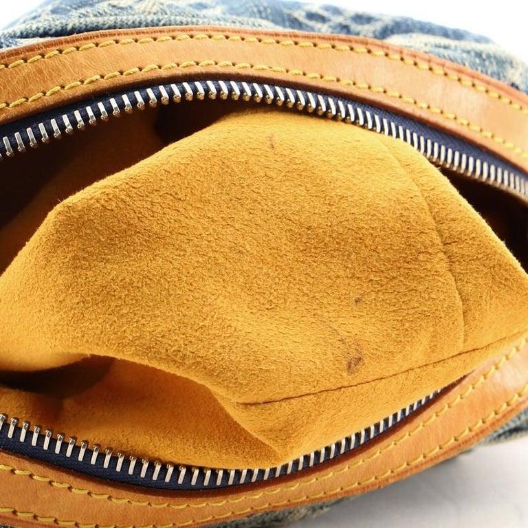 Louis Vuitton Camera Bag Monogram Denim For Sale 5