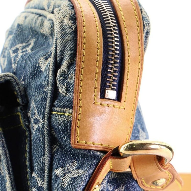 Louis Vuitton Camera Bag Monogram Denim For Sale 2