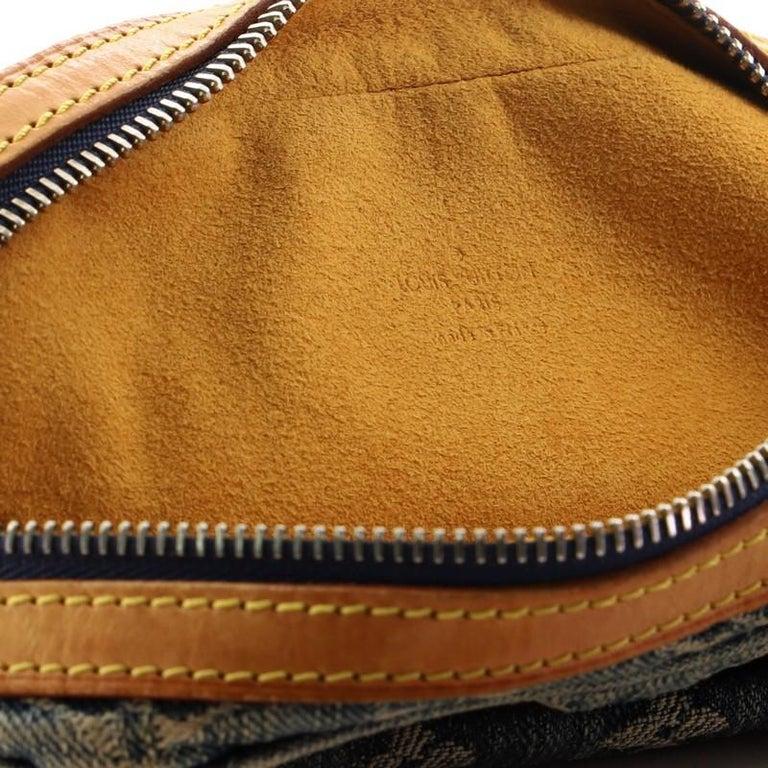 Louis Vuitton Camera Bag Monogram Denim For Sale 4
