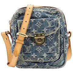 Louis Vuitton Camera Bag Monogram Denim