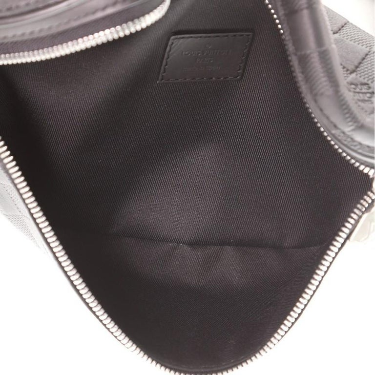 Louis Vuitton Campus Bumbag Damier Infini Leather For Sale 2