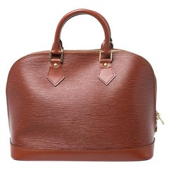 Louis Vuitton Canelle Epi Leather Alma PM Bag