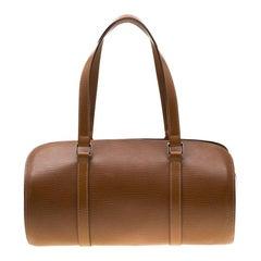 Louis Vuitton Canelle Epi Leather Soufflot Bag