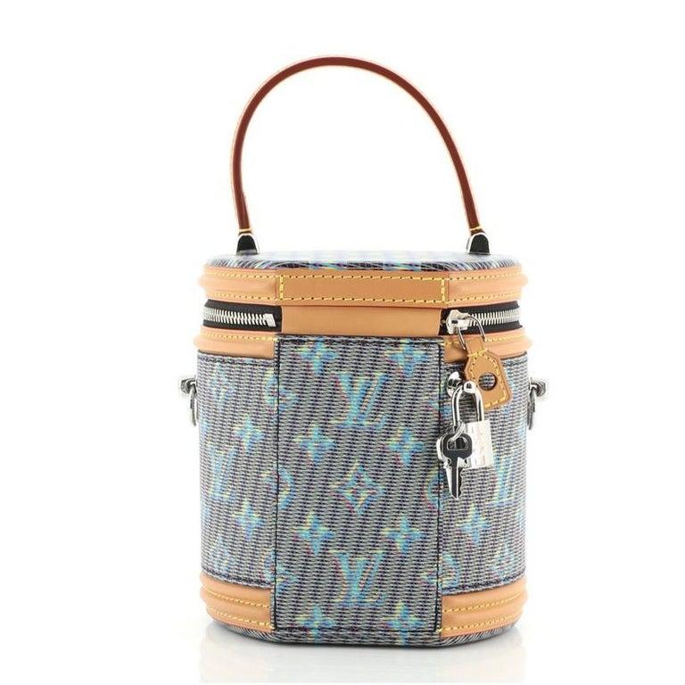 Women's or Men's Louis Vuitton Cannes Handbag Damier Monogram LV Pop Canvas For Sale