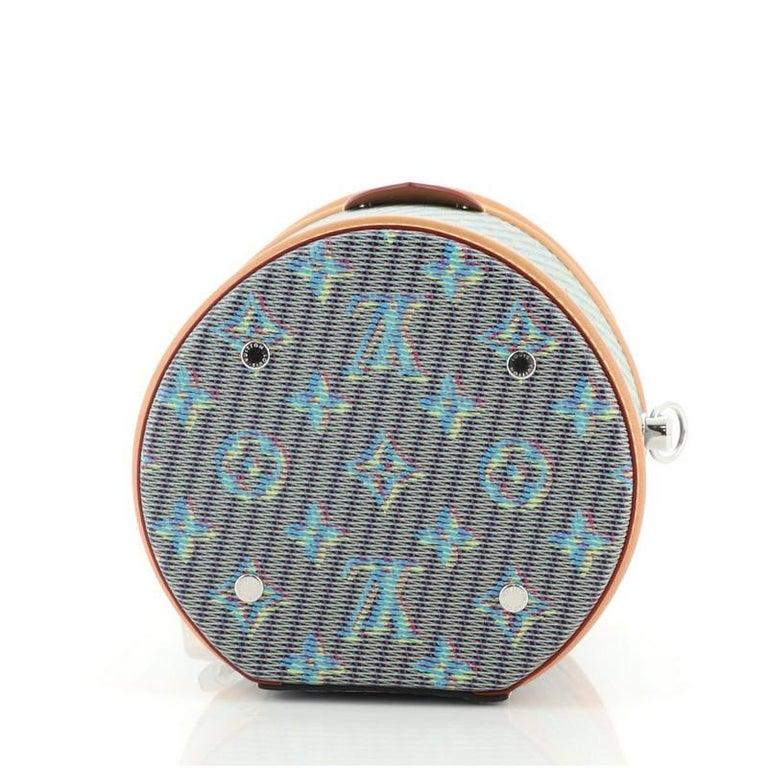 Louis Vuitton Cannes Handbag Damier Monogram LV Pop Canvas For Sale 1