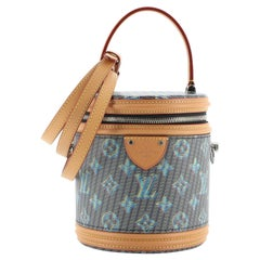 Louis Vuitton Cannes Handbag Damier Monogram LV Pop Canvas