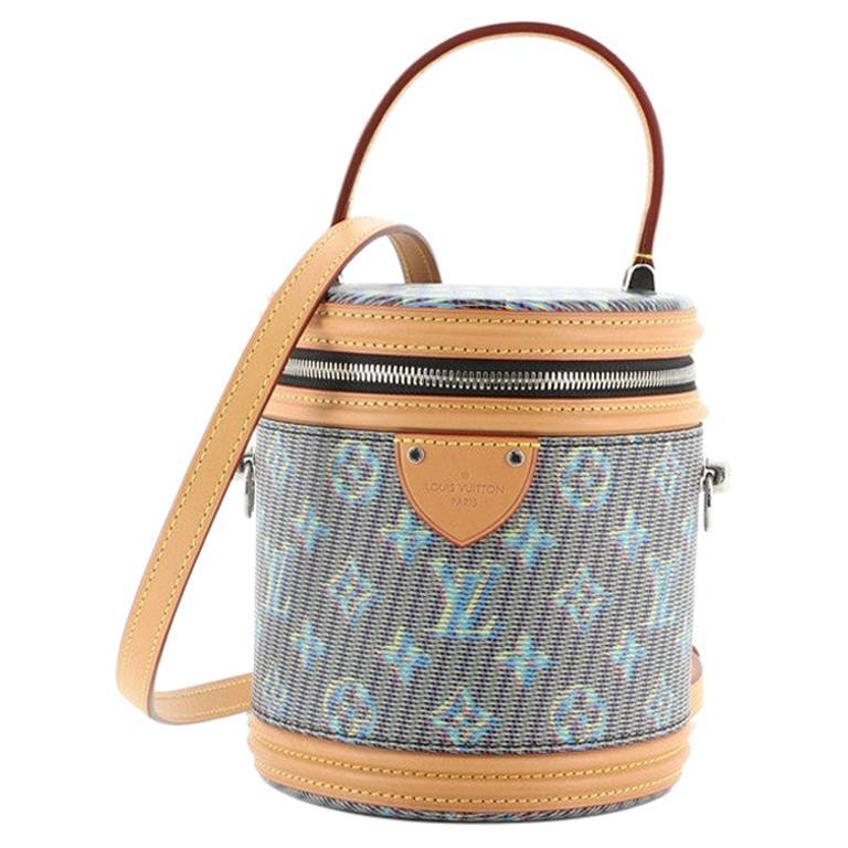 Louis Vuitton Cannes Handbag Damier Monogram LV Pop Canvas For Sale