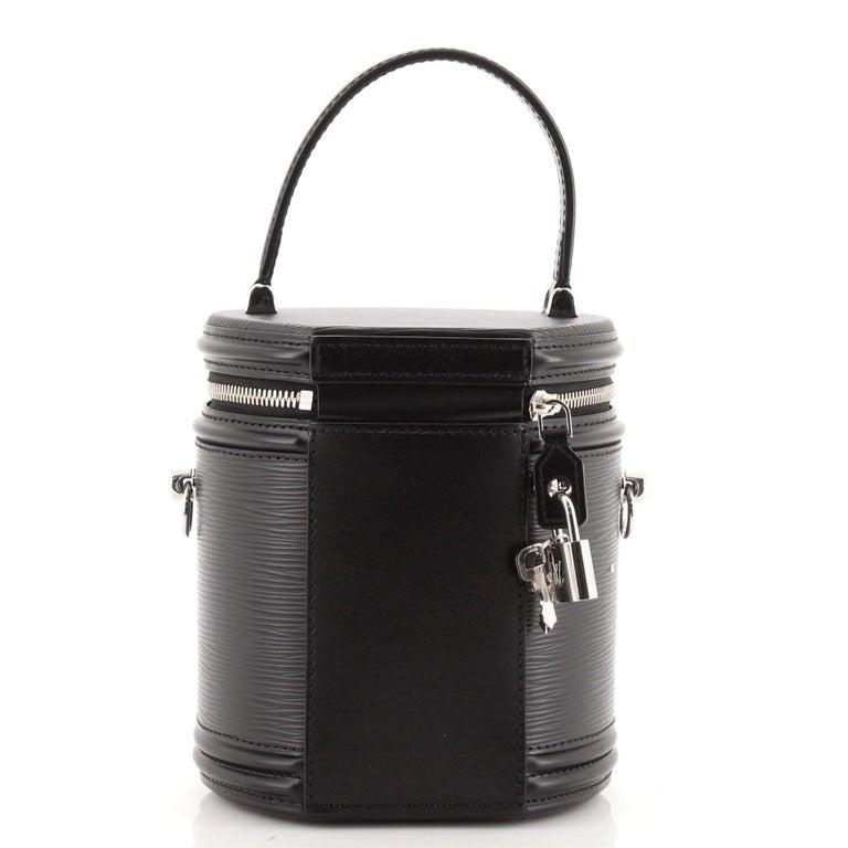 Black Louis Vuitton Cannes Handbag Epi Leather For Sale