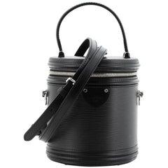 Louis Vuitton Cannes Handbag Epi Leather