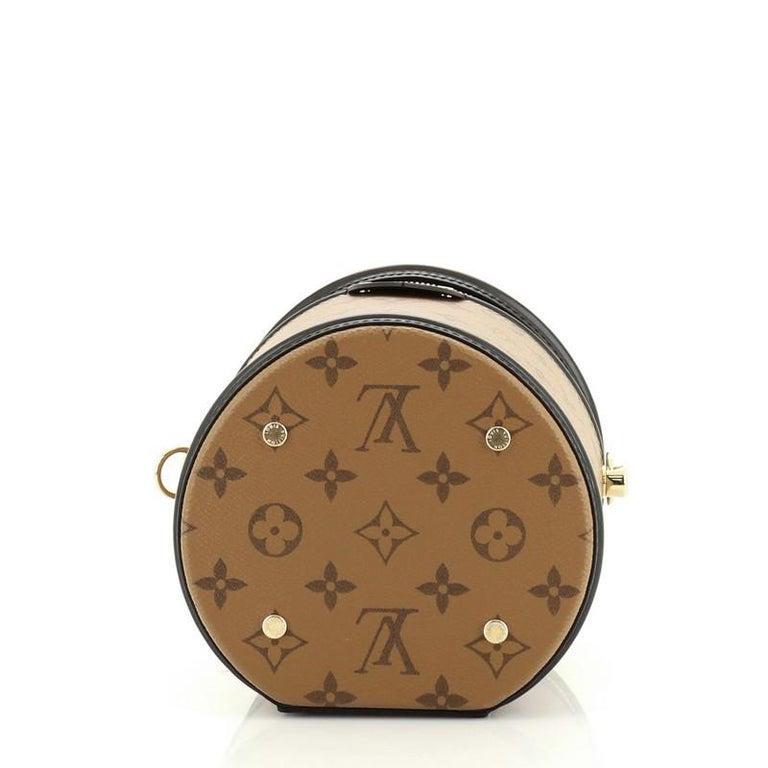 Women's or Men's Louis Vuitton Cannes Handbag Reverse Monogram Canvas For Sale