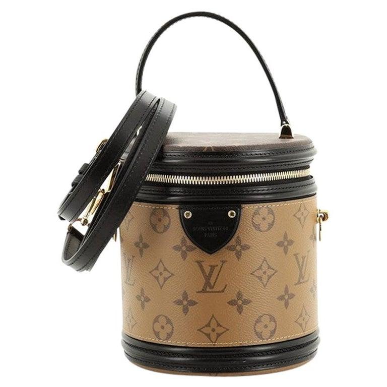 Louis Vuitton Cannes Handbag Reverse Monogram Canvas For Sale