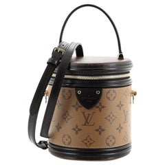 Louis Vuitton Cannes Handbag Reverse Monogram Canvas