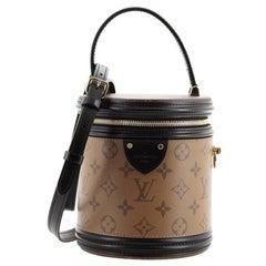 Louis Vuitton Cannes Handbag Reverse Monogram Canvas