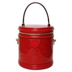 """Louis Vuitton Cannes """"Rouge"""" Monogram Veris Handbag"""