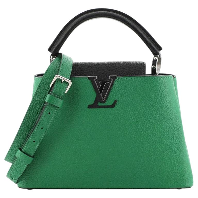 Louis Vuitton Capucines Bag Leather BB