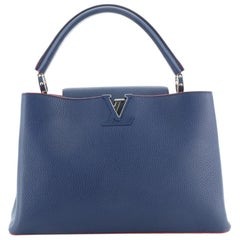 Louis Vuitton Capucines Bag Leather MM