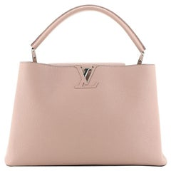 Louis Vuitton Capucines Bag Leather MM