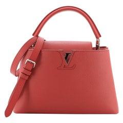 Louis Vuitton Capucines Bag Leather PM