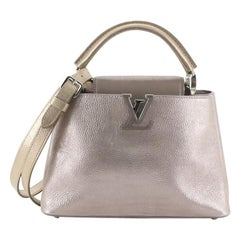 Louis Vuitton Capucines Bag Limited Edition Tricolor Iridescent Calfskin