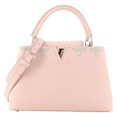 Louis Vuitton Capucines Bag Studded Leather PM