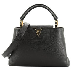 Louis Vuitton Capucines Handbag Leather BB