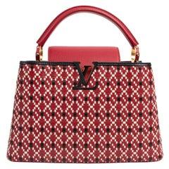 Louis Vuitton Capucines PM Twiny Rouge Bag