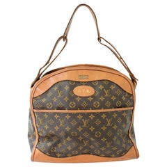 Louis Vuitton Carry On Bag Luggage Tote Monogram Canvas French Co. Saks 70s