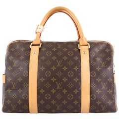 Louis Vuitton Carryall Handbag Monogram Canvas,