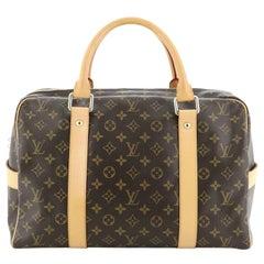 Louis Vuitton Carryall Handbag Monogram Canvas