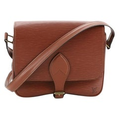 Louis Vuitton Cartouchiere Handbag Epi Leather MM