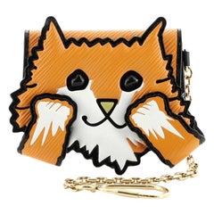 Louis Vuitton  Cat Card Case Limited Edition Grace Coddington Epi Leather