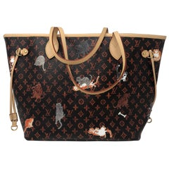 Louis Vuitton Catogram Neverfull MM