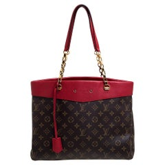 Louis Vuitton Cerise Monogram Canvas Pallas Shopper Bag