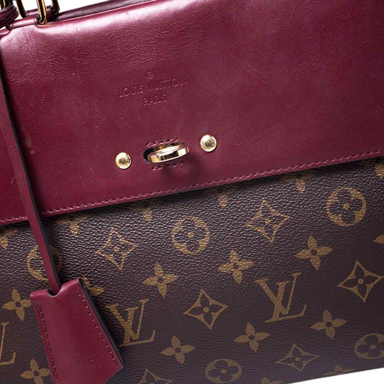 Louis Vuitton Cerise Monogram Canvas Venus Bag For Sale 7