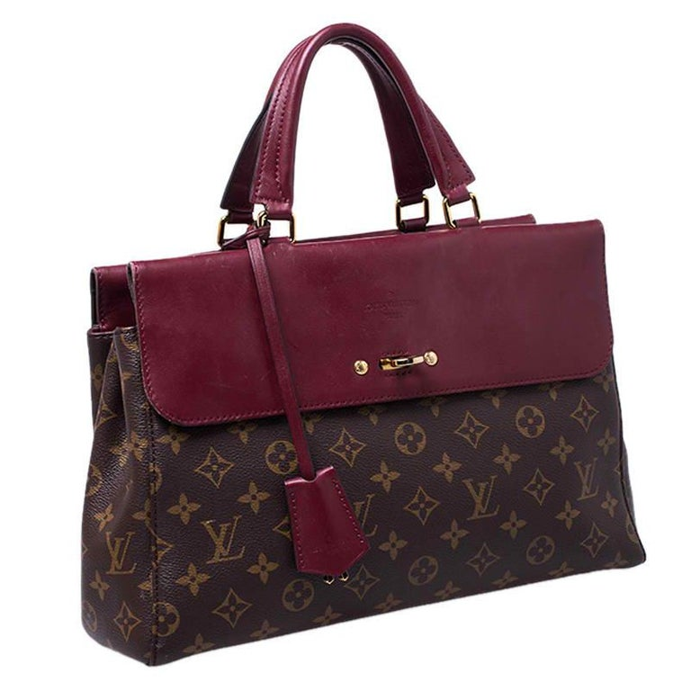 Louis Vuitton Cerise Monogram Canvas Venus Bag For Sale 8