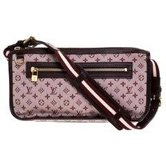 Louis Vuitton Cerise Monogram Mini Lin Kathleen Pochette Bag