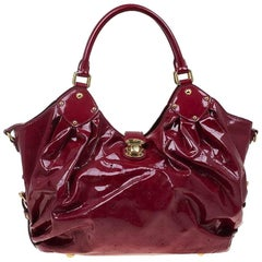 Louis Vuitton Cerise Monogram Patent Leather Surya L Bag