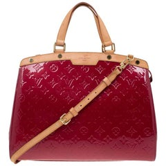 Louis Vuitton Cerise Monogram Vernis Brea Bag
