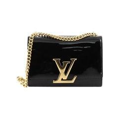 Louis Vuitton Chain Louise Clutch Patent MM