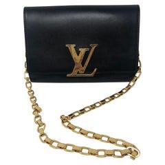 Louis Vuitton Chain Louise GM Black